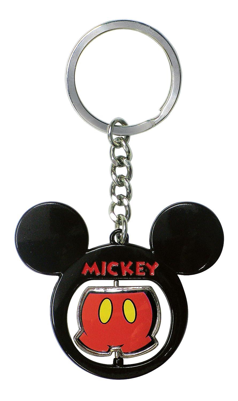 Pantalones de Mickey Mouse Spinning Pewter Llavero: Amazon ...
