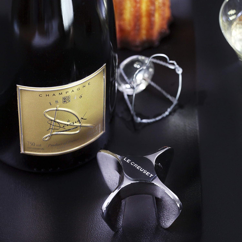 Black Nickel Le Creuset Wine Accessories Sparkling Wine Opener