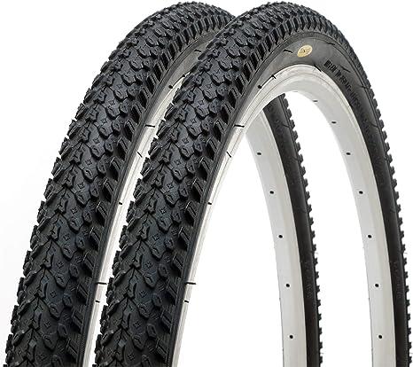 Fincci Par Carretera de Montaña Bicicleta Híbrida Neumático Cubiertas 26 x 2,125: Amazon.es: Deportes y aire libre