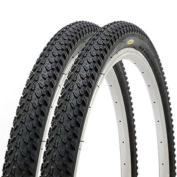 Fincci Par Carretera de Montaña Bicicleta Híbrida Neumático Cubiertas 26 x 2,125 57-559: Amazon.es: Deportes y aire libre