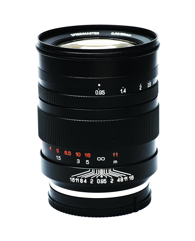 MITAKON (ZhongYi) Speedmaster 50mm f0.95 無段階 スーパー大口径レンズ Manual Prime Lens for SONY E-mount Mirrorless   B00SL9F2XM