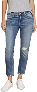 product image for Rag & Bone/JEAN Women's Dre Low Rise Slim Boyfriend Jeans