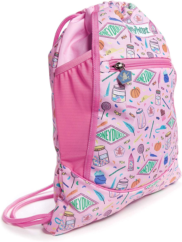 JuJuBe x Harry Potter Grab/&Go String Backpack Lightweight Bag with Tech Pocket