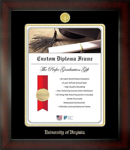 Amazon.com: Celebration Frames University of Virginia 22 x 17 ...