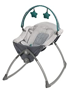 Graco Little Lounger Rocking Seat Plus Vibrating Lounger