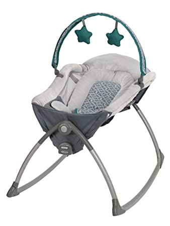 b6605f1f6 Graco Little Lounger Rocking Seat Plus Vibrating Lounger, Ardmore