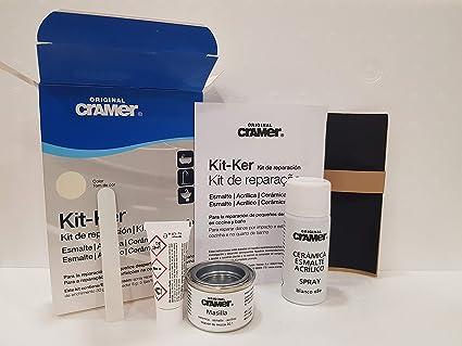 kit reparacion bañera y sanitario CRAMER KIT-KER BLANCO