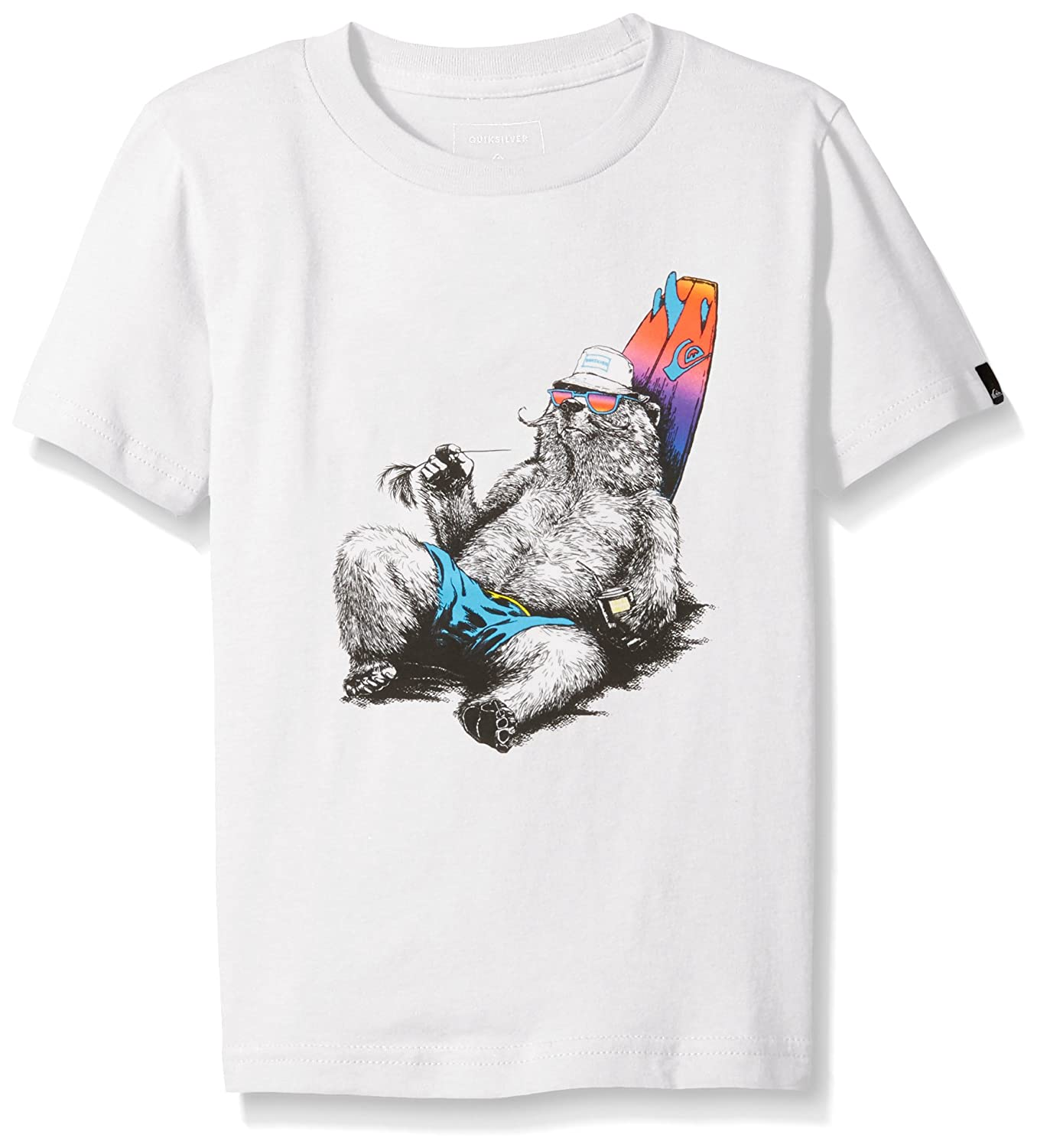 Quiksilver Boys' Short Sleeve Graphic Tee for sale