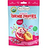 Torie & Howard Chewie Fruities Organic Candy Pomegranate & Nectarine, 4 Ounce Bag