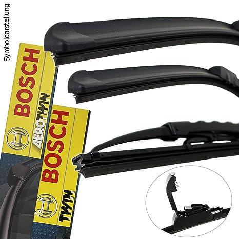 Original Bosch Aerotwin Retrofit Limpiaparabrisas Maxxi4you hojas de delantera + trasera Juego completo