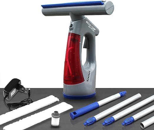 ECODE Aspirador limpiacristales eléctrico sin Cables con bateria de Litio Clean Window. Ligero con Mango Extensible: Amazon.es: Hogar