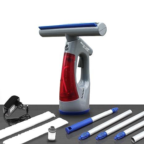 ECO-DE Aspirador limpiacristales eléctrico sin Cables con bateria de Litio Clean Window. Ligero