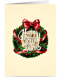 new year cards one jade lane happy new years cards 5x7 heavy