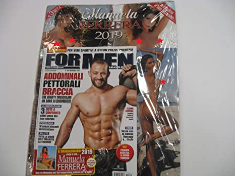 For Men Calendario.Calendario Manuela Ferrara 2019 Da Parete Allegato For Men