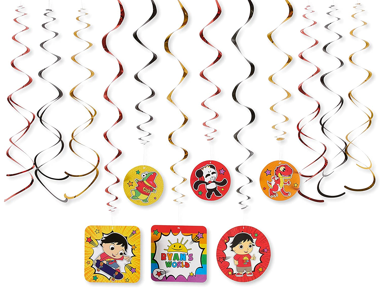 Dinner Paper Plates American Greetings Ryans World Party Supplies 36-Count