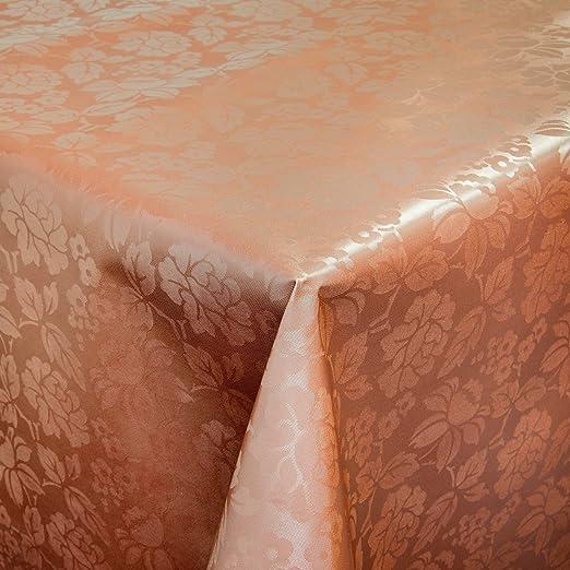 Hule mesa mantel de hule lavable relieve Impresión Cobre Longitud ...