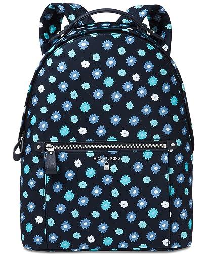 882892b86a8d MICHAEL Michael Kors Kelsey Large Nylon Backpack (Admiral/Tile Blue)