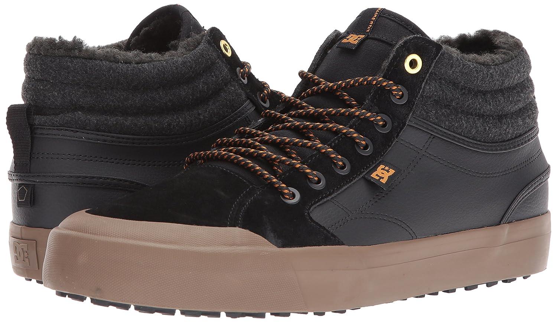 DC Men's Evan Smith HI Wnt Skate Shoe B06Y5LL86X 12 D D US|Black/Black/Gum