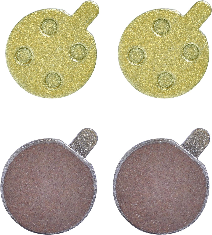Poweka Plaquettes de Frein Remplacement pour Scooter /électrique Xiao-mi M365 Pro 1S Essential(2 Paires)
