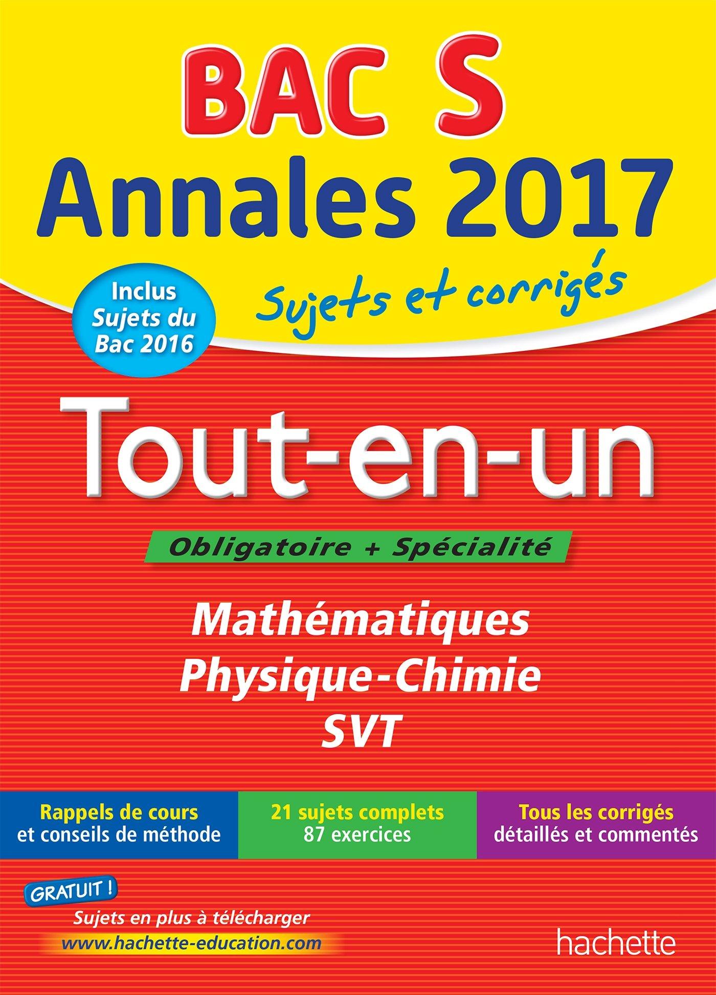 Annales Bac 2017 Le Tout-En-Un Term S Annales du Bac: Amazon.es: Frédérique de La Baume-Elfassi, Patrice Delguel, Sandrine Dubois, Sandrine Bodini-Lefranc, ...