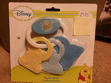 Winnie the Pooh Activity Ring Teether for Girls - Pink by ...