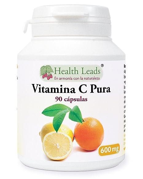 Vitamina C pura 600 mg x 90 cápsulas