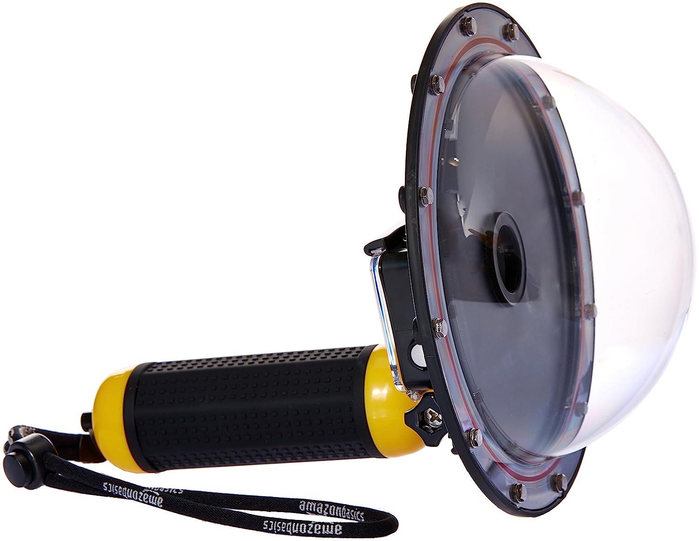 Basics Underwater Dome Port for GoPro HERO3+ & HERO4, Yellow QSMZ-A-1