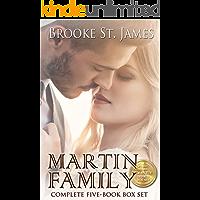 Martin Family Complete Box Set: All 5 books in the Martin Family Romance Series