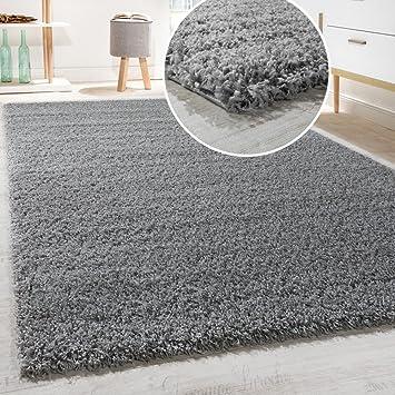 diva tapis shaggy longues mches en diffrentes tailles et coloris dimension140x200 cm - Tapis Gris