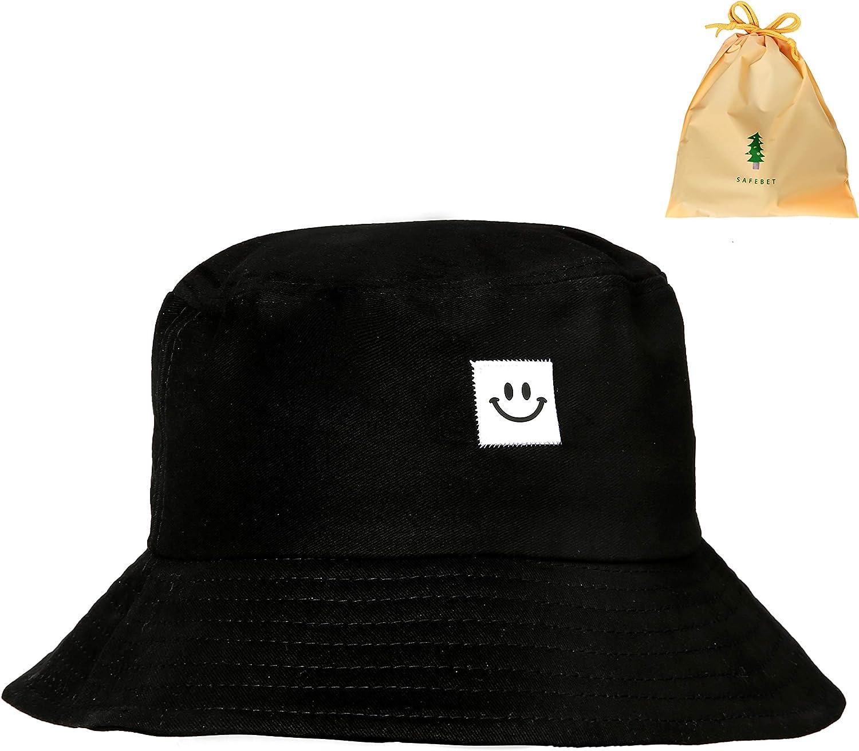 BEAUTYBIGBANG Damen H/üte Bucket Hat Alien Stickte Fischer Cap Outdoor-Hut Sun UV H/üte F/ür Reisen Outdoor H/üte f/ür Damen