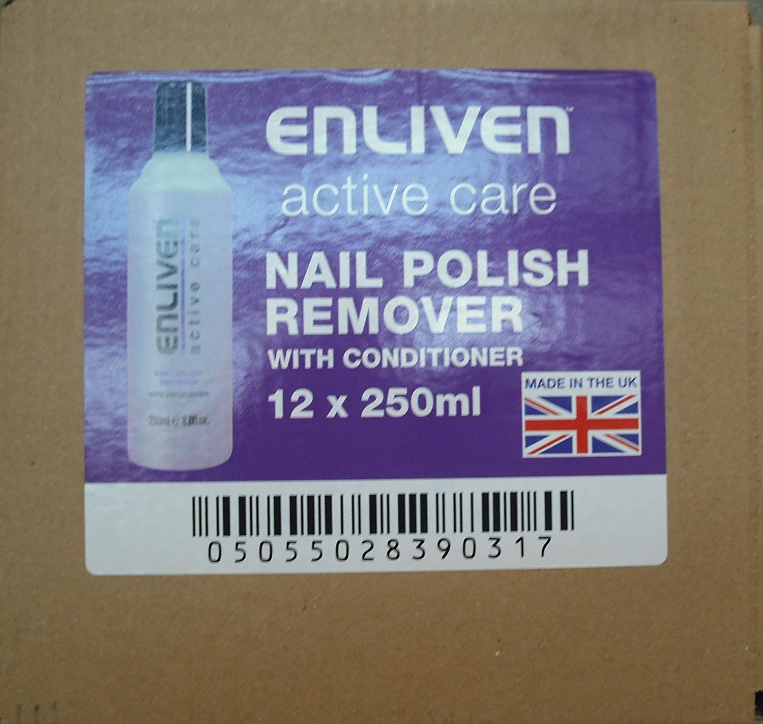 Amazon.com: Enliven Active Care Nail Polish Remover with Conditioner ...