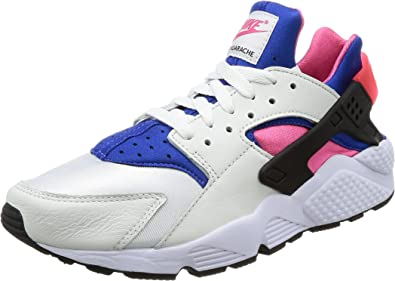 Nike Men's Air Huarache Run 91 QS, WhiteGame Royal Black, 10.5 M US