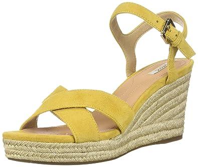 Geox Women's Soleil Wedge Sandal Sandal