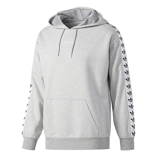 : Adidas Men's Originals TNT Tape Hoodie: Gray