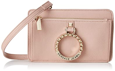 79f9fd593 Image Unavailable. Image not available for. Color: Versace EE1VTBBA3 E400 Light  Pink Shoulder Bag ...