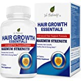 Hair Growth Essentials Supplement For Hair Loss - Advanced Hair Regrowth Treatment With 29 Powerful Hair Growth Vitamins & Nutrients for Rapid Growth for Women and Men - 90 Pills
