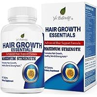 Hair Vitamins for Faster Hair Growth - Advanced Hair Growth Essentials Supplement for Hair Loss - 29 Powerful Hair…