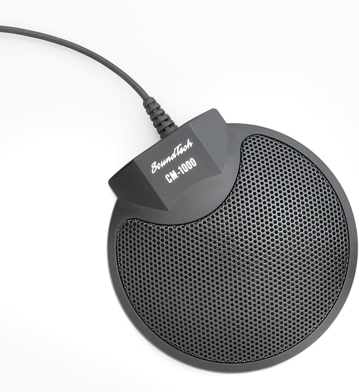 Micrófono omnidireccional de 3,5 mm SoundTech CM-1000