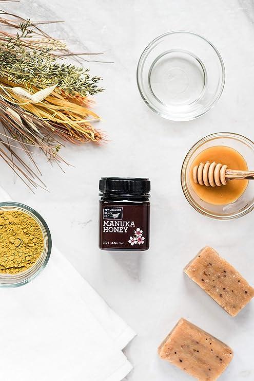 Miel de Manuka salvaje por New Zealand Honey Co. | 250g | Deliciosa miel silvestre de Manuka de la Isla Sur de Nueva Zelanda | Nueva Zelanda Empresa ...