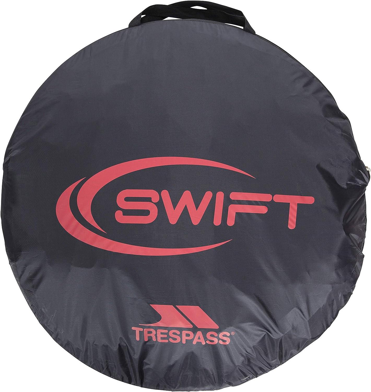 Rot TRESPASS Pop Up Zelt 2 Personen Swift 2