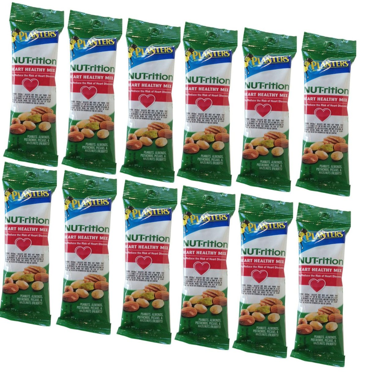 Planters Nut-rition Heart Healthy Mix - 1.5 Oz. (12 Ct.) - SCS