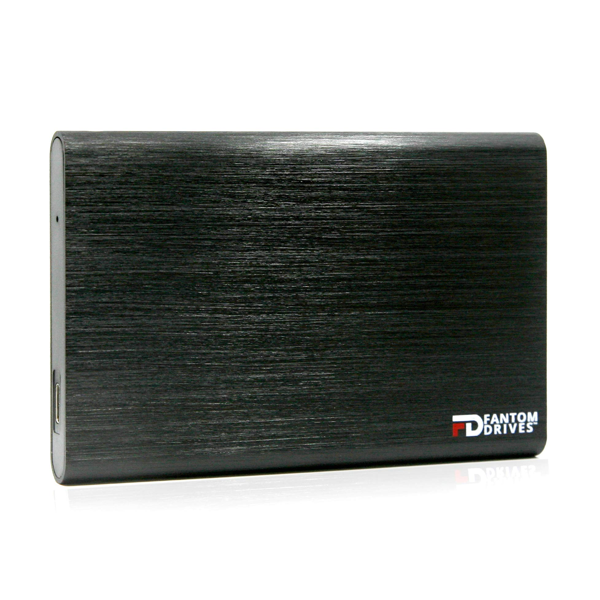 Fantom Drives External SSD 2TB USB 3.1 Gen 2 Type-C 10Gb/s - Black - Windows - GFORCE 3.1 Portable SSD Series - CSD2000B-W