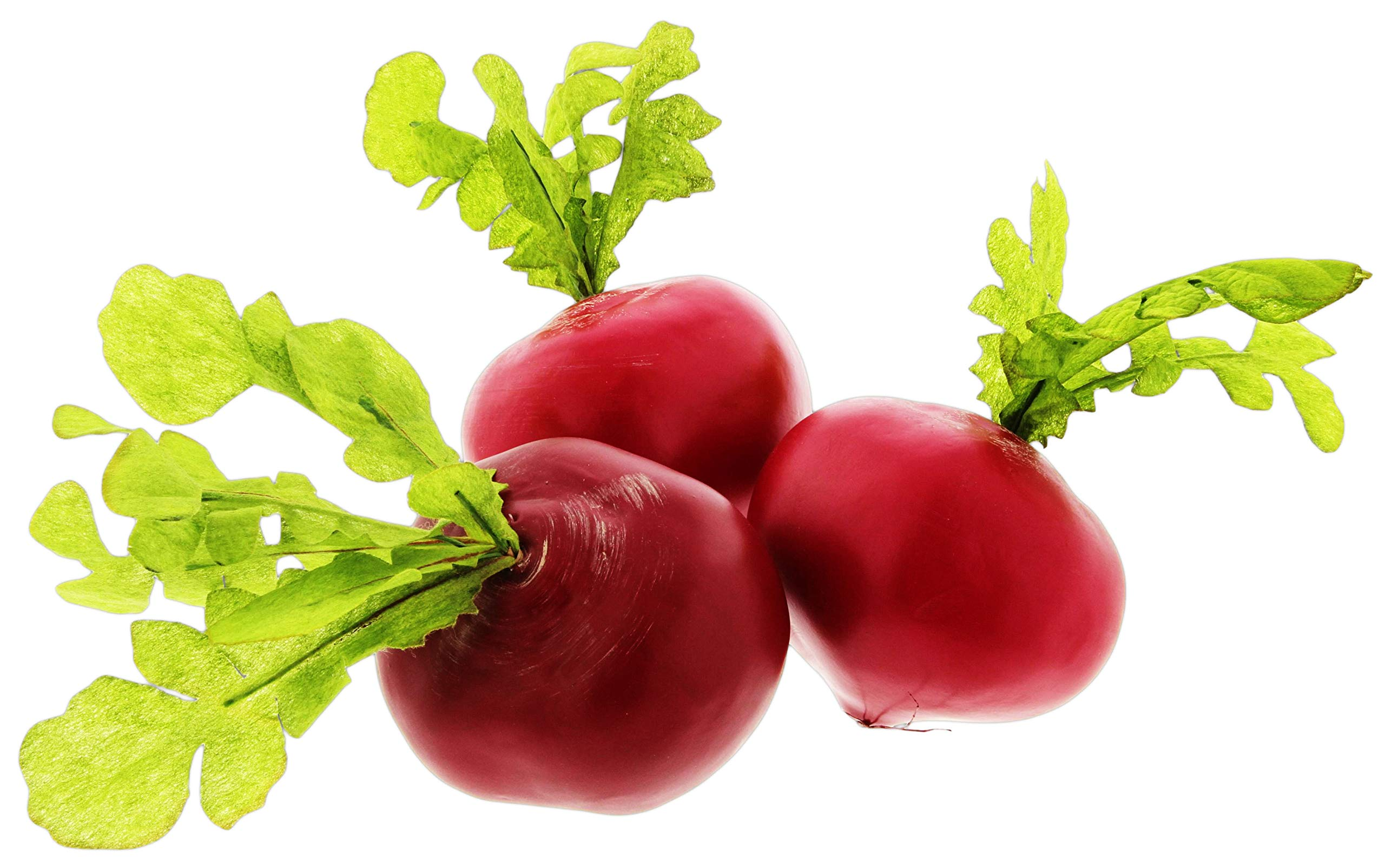 Bundle of 3 Flora Bunda Red Radishes Replica Props - Red