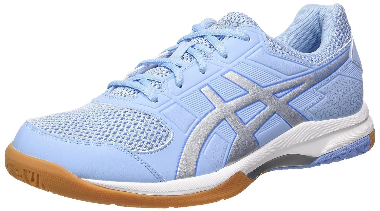 Asics Gel-Rocket 8, Zapatos de Voleibol para Mujer 42 EU Azul (Airy Blue/Silver/White 3993)