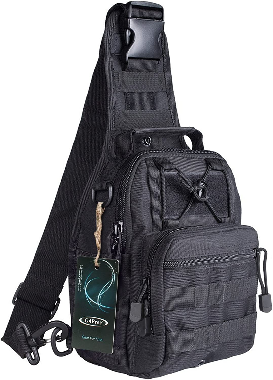 G4Free Outdoor Tactical Backpack, Military Sport Pack Shoulder Backpack : Clothing