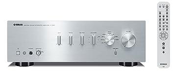 Yamaha AS-301 - Amplificador híbrido (95W, estéreo, entrada digital),