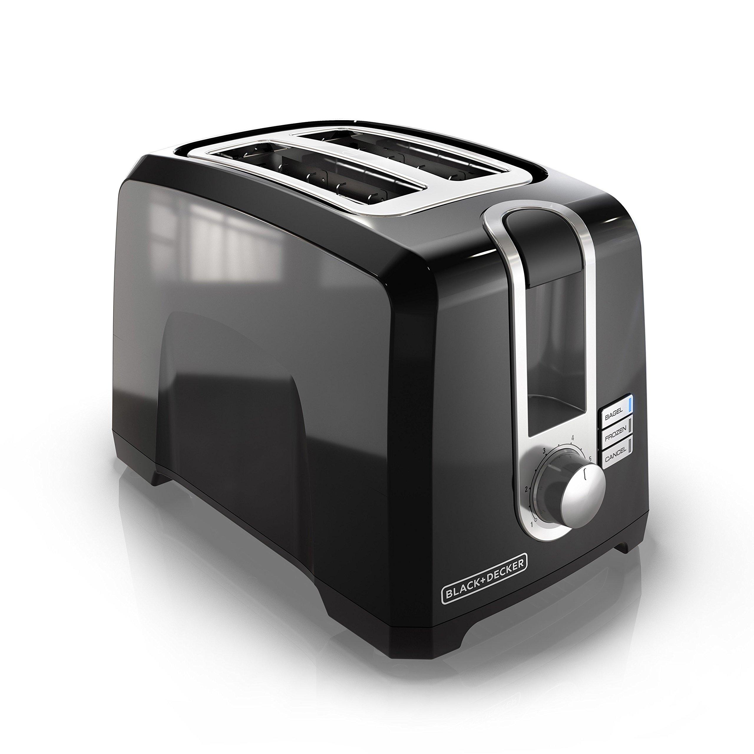 evoke richards black slice morphy toaster