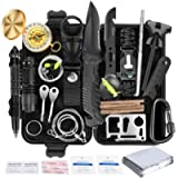 Survival Kit 35 in 1, First Aid Kit, Survival Gear, Christmas Birthday Gifts for Men Boyfriend Him Husband Camping…