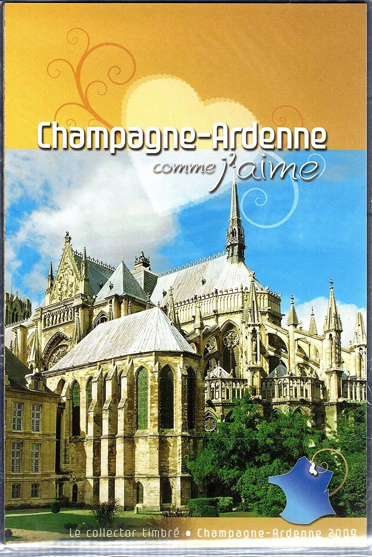 LA POSTE 2009 Collector Feuillet Timbres ADHÉSIFS Champagne-Ardennes Imprimerie Nationale
