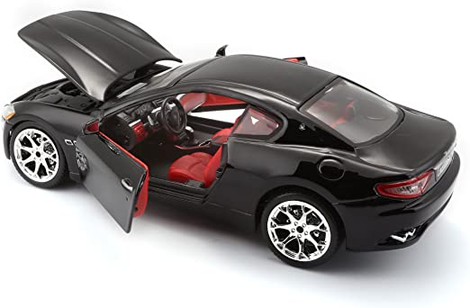 Maserati Granturismo 2007 Black 1:24 Model 22107BK BBURAGO